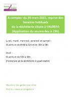 20210329 Affiche ouverture decheterie Valreas
