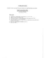 Annonce du Conseil Municipal du 27 janvier 2020