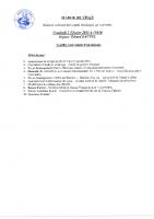 Annonce Conseil Municipal du 05 Février