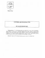 CONSEIL MUNICIPAL N° 10 DU 26 FEVRIER 2015 – Compresse