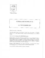 CR N°37 du Conseil Municipal du 7 Novembre 2019