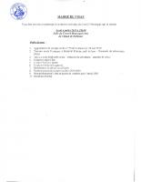 Convocation pour le Conseil Municipal du 04-07-2019