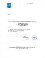 Convocation pour le Conseil Municipal du 29 Mai 2019