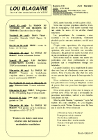 Lou Blagaire N°119 avril-mai 2021