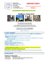 VISAN-INFO HEBDO S1 – 2019