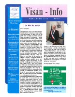 Visan-Info-50 mars-avril 2019