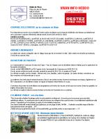 Visan info Lundi 27 Avril 2020
