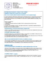 Visan info Mercredi 13 mai 2020