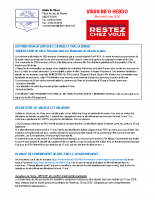 Visan info Mercredi 6 mai 2020