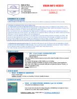 Visan info hebdo Semaine 13