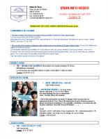 Visan info hebdo Semaine 14