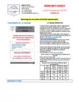 Visan info hebdo Semaine 16