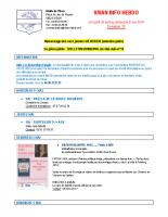 Visan info hebdo Semaine 18