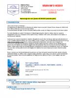 Visan info hebdo Semaine 20