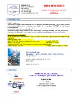 Visan info hebdo Semaine 21