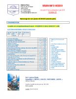Visan info hebdo Semaine 22
