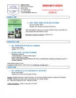 Visan info hebdo Semaine 23