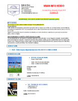 Visan info hebdo Semaine 26