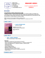 Visan info hebdo Semaine 27