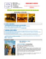 Visan info Semaine 4