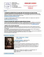 Visan info hebdo Semaine 48