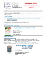 Visan info hebdo Semaine 49
