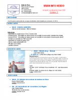 Visan info hebdo Semaine 11