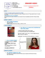 Visan info hebdo Semaine 3