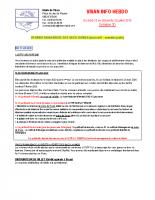 Visan info hebdo Semaine 30