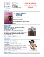 Visan info hebdo Semaine 32