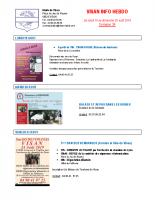 Visan info hebdo Semaine 34