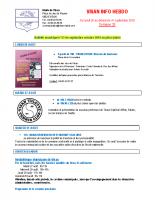 Visan info hebdo Semaine 35
