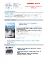 Visan info hebdo Semaine 39
