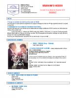 Visan info hebdo Semaine 4