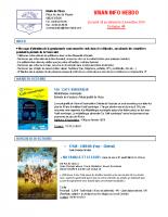 Visan info hebdo Semaine 44
