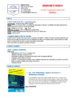 Visan info hebdo Semaine 5