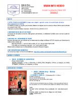 Visan info hebdo Semaine 6
