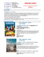 Visan info hebdo Semaine 8