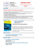 Visan info hebdo Semaine 9