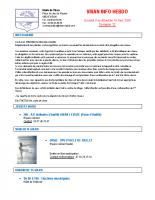 Visan info hebdo hebdo Semaine 12