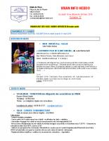 Visan info hebdo Semaine 12
