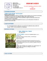 Visan info hebdo Semaine 40