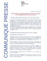 20200311_CP COVID19_lections et rassemblements