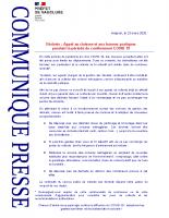 20200323_CP_appel au civisme_déchets