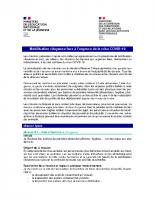 VP – Missions de volontariat types – COVID-19
