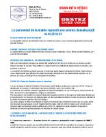 Visan info Mercredi 25 mars 2020