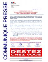 Communiqué de presse interdiction des locations saisonnires vocation touristique