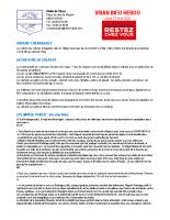 Visan info Jeudi 23 Avril 2020