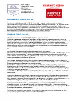 Visan info Jeudi 30 Avril 2020