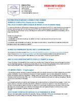 Visan info Lundi 11 mai 2020